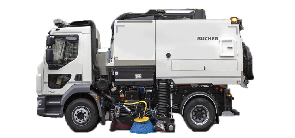 Bucher sopmaskin V502